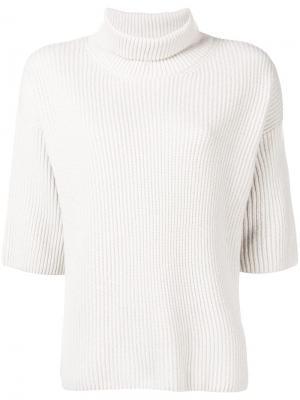Three-quarter sleeve sweater Peserico. Цвет: нейтральные цвета