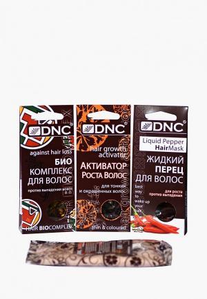 Набор масок для волос DNC. Цвет: прозрачный