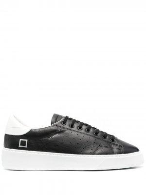 Кроссовки Levante в стиле колор-блок D.A.T.E.. Цвет: черный