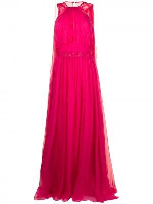 Вечернее платье Zuhair Murad. Цвет: розовый