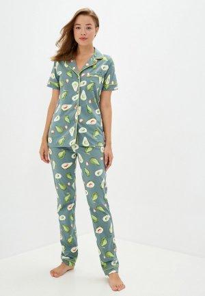 Пижама Dansanti. Цвет: зеленый