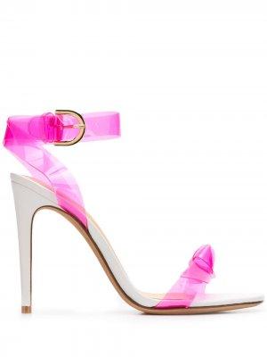 Босоножки на высоком каблуке Alexandre Birman. Цвет: белый