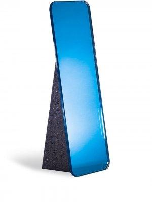 Настольное зеркало Olivia Pulpo. Цвет: синий