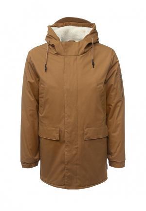 Куртка утепленная Bellfield. Цвет: коричневый