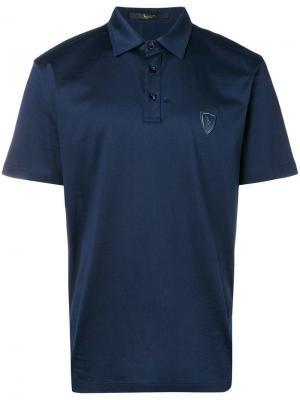 Рубашка-поло Parnasse Billionaire. Цвет: синий