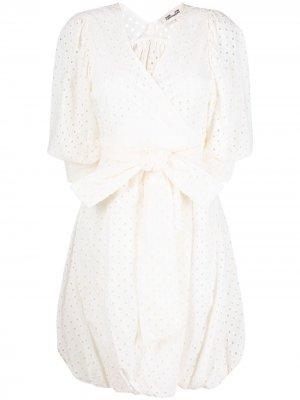 Платье Ulrica с запахом DVF Diane von Furstenberg. Цвет: белый