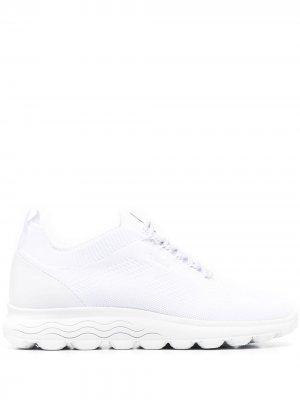 Кроссовки-носки Geox. Цвет: белый