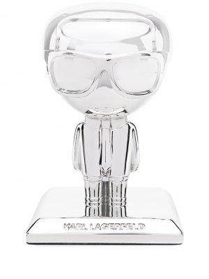 Статуэтка K/Ikonic 3D Karl (20 см) Lagerfeld. Цвет: серебристый