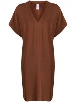 Пляжное платье Tali Eres. Цвет: коричневый