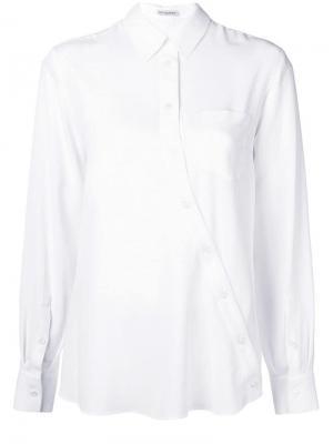 Рубашка на пуговицах Altuzarra. Цвет: белый