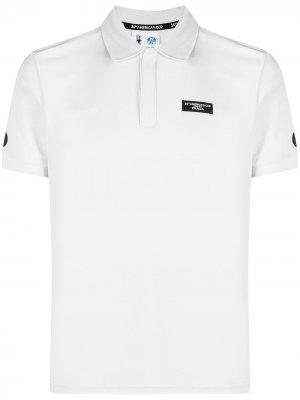 Рубашка поло с короткими рукавами и логотипом North Sails. Цвет: серый