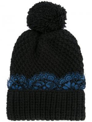 Шапка-бини Aspen 0711. Цвет: черный