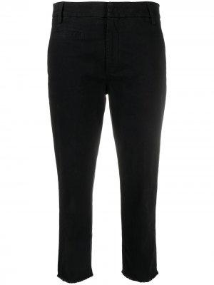Укороченные брюки прямого кроя Dondup. Цвет: черный
