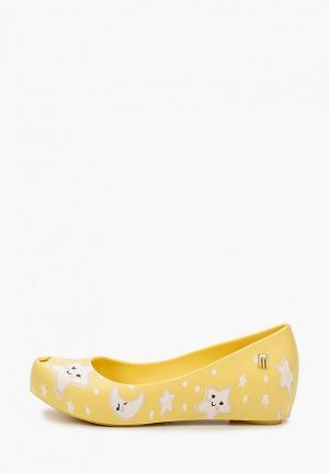 Балетки Melissa. Цвет: желтый