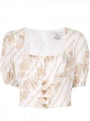 Блузка-бюстье Bronte We Are Kindred. Цвет: белый