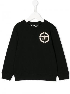 Eagle sweatshirt Boy London Kids. Цвет: черный