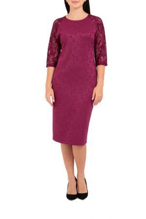 Платье Mankato. Цвет: вишневый