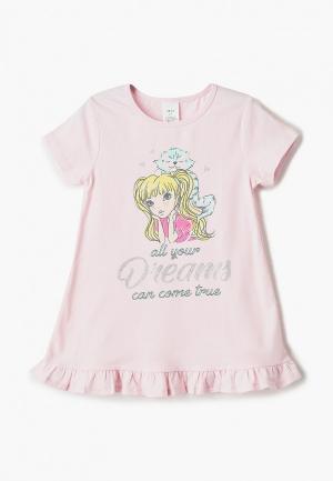 Сорочка ночная Sela. Цвет: розовый