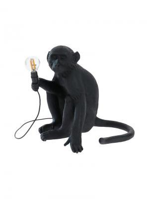 Лампа Monkey Seletti. Цвет: черный