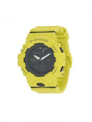 Bluetooth Step Tracker watch G-Shock. Цвет: желтый