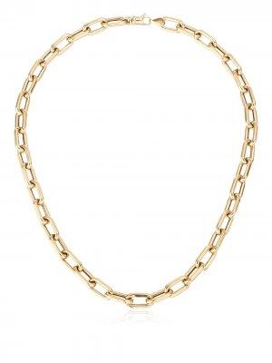Цепочка на шею из желтого золота Adina Reyter. Цвет: золотистый