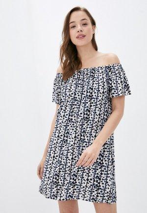Платье Fresh Made. Цвет: бежевый