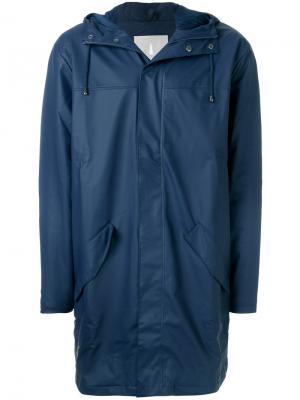Пальто Alpine Rains. Цвет: синий