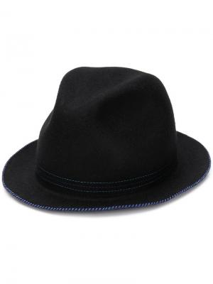 Narrow brim hat Ps By Paul Smith. Цвет: черный