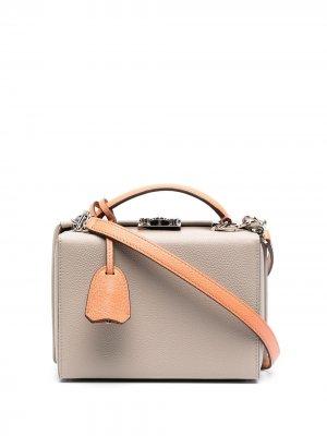 Маленькая каркасная сумка Grace Mark Cross. Цвет: нейтральные цвета