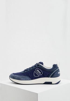 Кроссовки Blauer. Цвет: синий