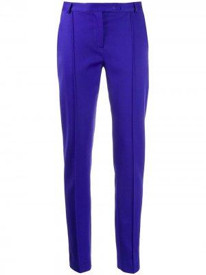 Зауженные брюки Styland. Цвет: синий