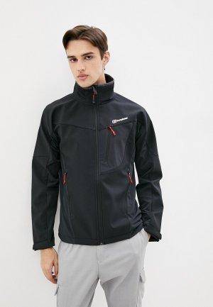 Куртка Berghaus. Цвет: черный