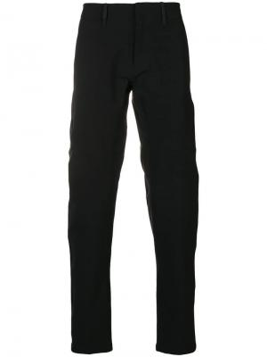 Straight let trousers Arc'teryx. Цвет: черный