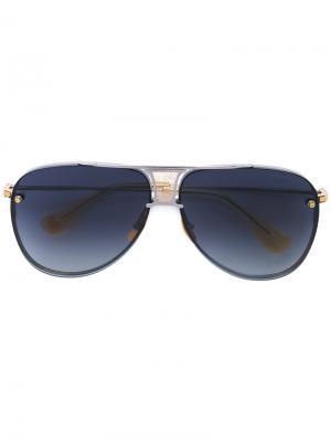 Солнцезащитные очки Decade Two Dita Eyewear. Цвет: золотистый
