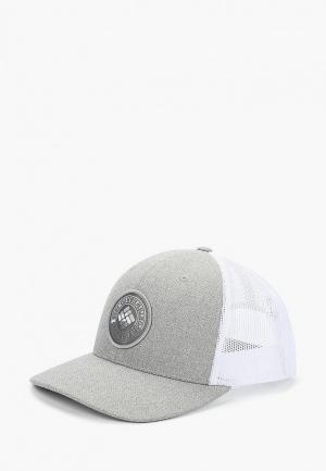Бейсболка Columbia. Цвет: серый
