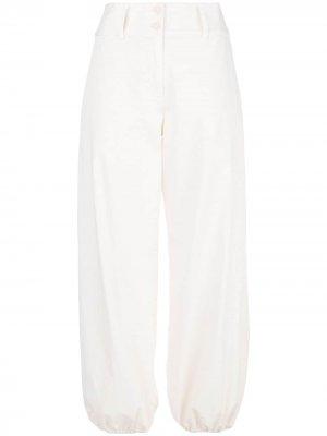 Широкие брюки Fez с зауженными манжетами AMIRI. Цвет: белый