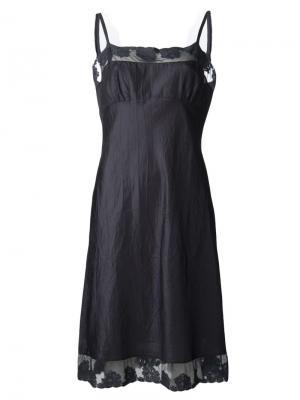 Ночная сорочка Susan Dosa. Цвет: чёрный