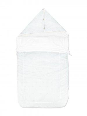 Спальный мешок с узором LANVIN Enfant. Цвет: синий