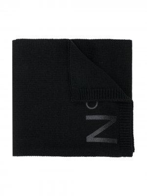 Шарф с логотипом Nº21 Kids. Цвет: черный
