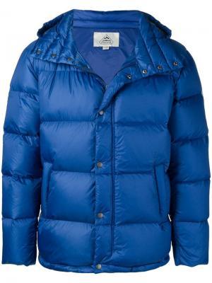 Пуховая куртка Pyrenex. Цвет: синий