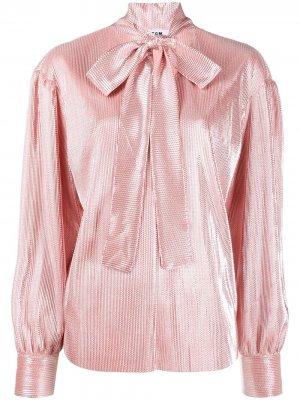 Блузка с бантом MSGM. Цвет: розовый