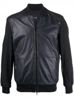 Короткая куртка Emporio Armani. Цвет: синий