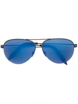 Солнцезащитные очки Classic Victoria Beckham. Цвет: черный