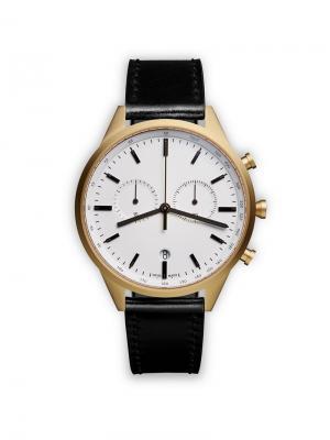 Часы C41 Chronograph Uniform Wares. Цвет: металлик