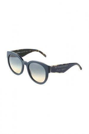 Очки солнцезащитные BURBERRY. Цвет: blue