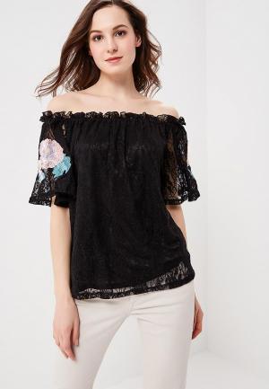 Блуза Glamorous. Цвет: черный