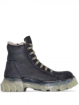 Ботинки Mega Bozo Rick Owens. Цвет: черный